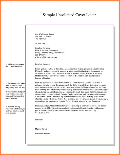10 examples of unsolicited application letter bussines proposal how