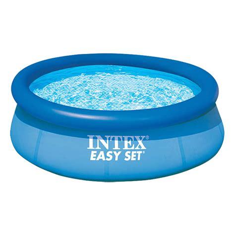 pool bauhaus intex easy pool set durchmesser 244 cm h 246 he 76 cm