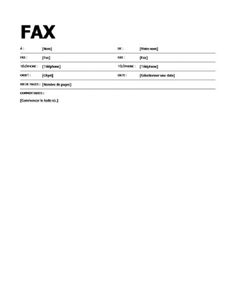 sle general fax cover sheet page de garde audacieuse pour t 233 l 233 copie office templates