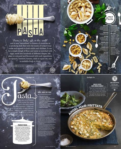 newspaper food sections 25 beautiful recipe design ideas on pinterest food