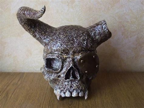 How To Make Paper Mache Skulls - papier mache galleries andrey gavrilov