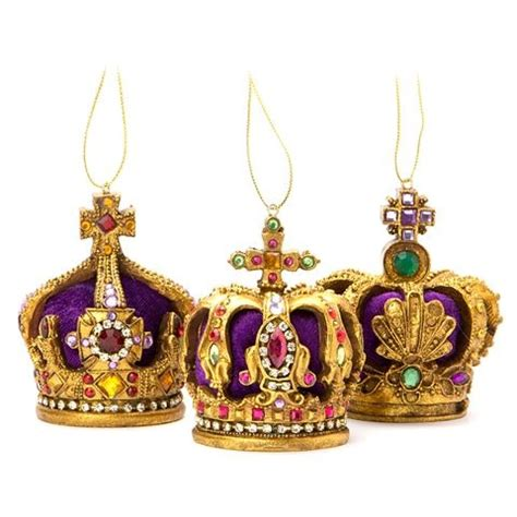 christmas jewelled crown ornament the jewels of yules