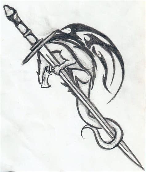tattoo dragon sword 20 fantastic sword tattoo designs pinteres
