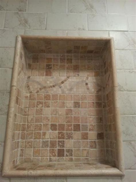 Bathroom Tile Trim Ideas by Pencil Trim Around Tile Alcove Half Bath Facelift