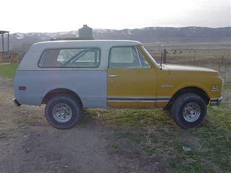 1972 chevrolet k5 blazer for sale nephi utah