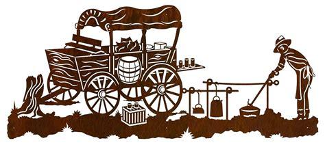 Home Decor Free Catalogs by Cowboy Chuck Wagon Western Wall Art Sculpture 57x25