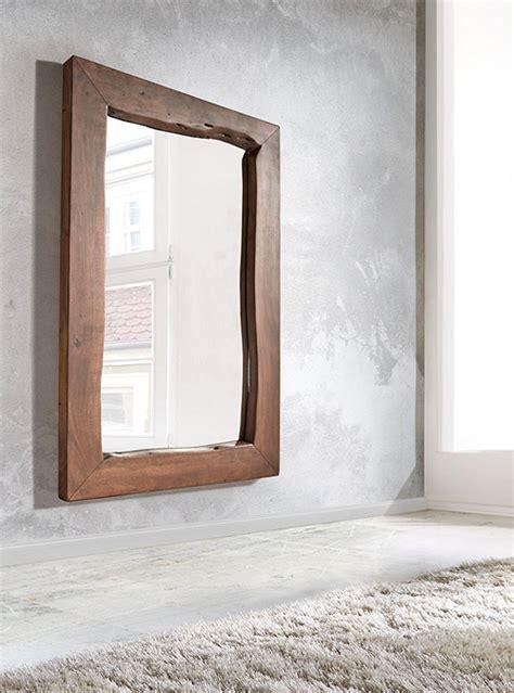specchio bagno cornice specchio in legno cornice legno massello di castagno l120 h160
