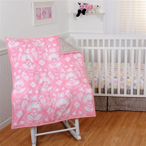 sumersault crib bedding sumersault mackenzie 4pc crib bedding collection set