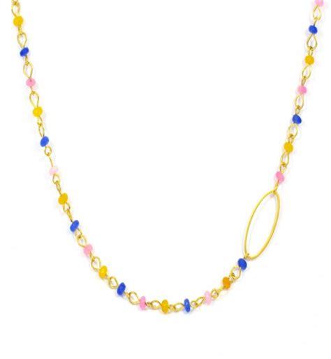 Oshop Lavender 1915 navy necklace e xantra gr