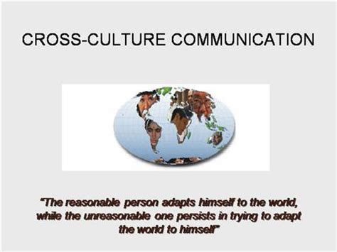 Cross Cultural Management Mba Notes by Cross Cultural Communication Authorstream