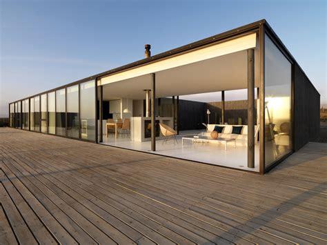 Modern Glass House Decked Architecture Photo De Maison D Architecte