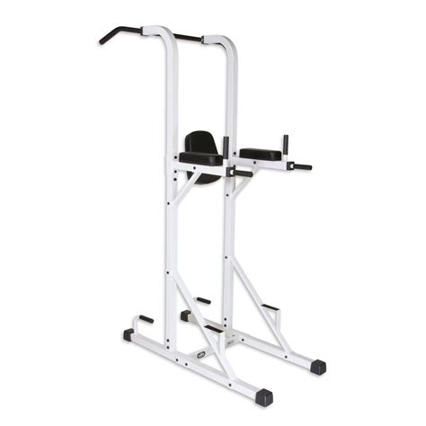 xmark fitness power tower with dip stand and pull up