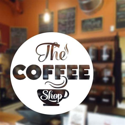 Sticker Coffee Shop 34 best restaurant cafe coffee shop wall stickers decals images on coffee shops