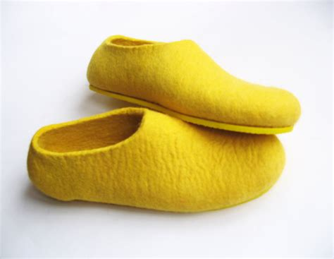 yellow shoes felted wool slippers wool boots cat beds cold why