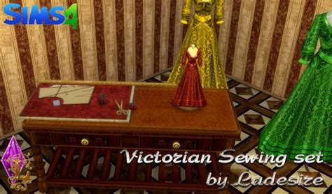 victorian sewing set  ladesire sims  updates