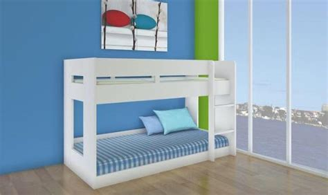 low bunk beds australia single lowline bunk new design two tone or all white