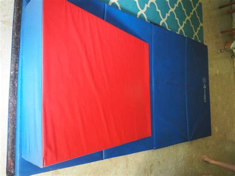 gymnastics mat with incline cheese wedge tumbling mat for