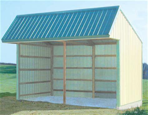 sided shed   build diy blueprints