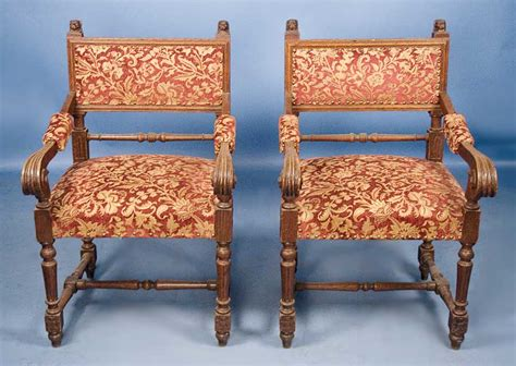 antique armchairs ebay pair of english antique victorian oak armchairs ebay