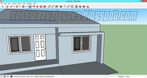 software untuk desain atap rumah desain rumah minimalis menggunakan google sketchup full