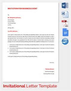 Visa Invitation Letter Template by Invitation Letter For Visa Template Alesi Info