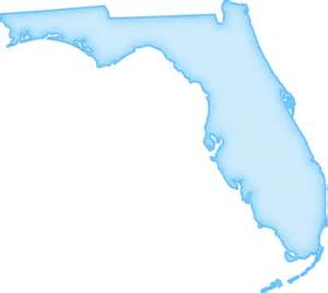 shape of florida on map florida quot abstract quot style maps 04 blue glow