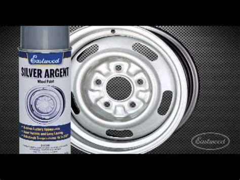 silver argent rally wheel paint from eastwood