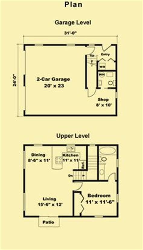guest house garage plans bedroom apartment house and search on pinterest