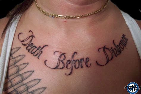death before dishonor tattoo before dishonor1 picture
