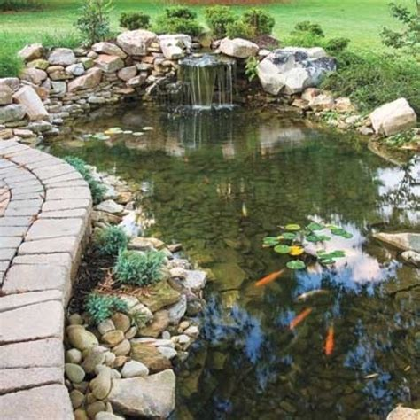 Backyard Ponds Designs by 67 Cool Backyard Pond Design Ideas Digsdigs