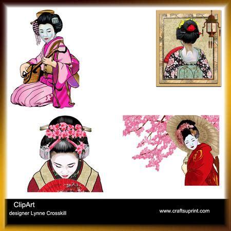 geisha clipart japanese geisha clipart cup423234 866 craftsuprint