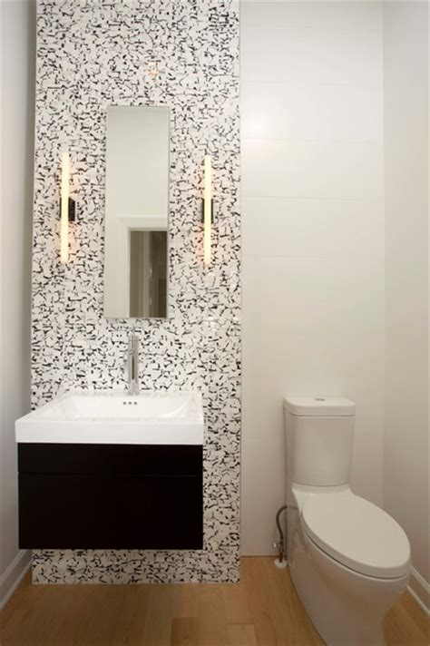 modern powder room ideas small bathrooms big design impact modern powder room