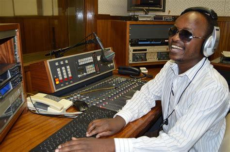 Blind Radio meet zim s blind radio sunday news