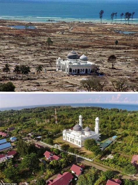 Dibalikkisahgemerlappergulatangerakansosial Di Aceh Sesudah Tsunami kumpulan foto sebelum dan sesudah pembangunan kembali serambi mekah setalah tsunami