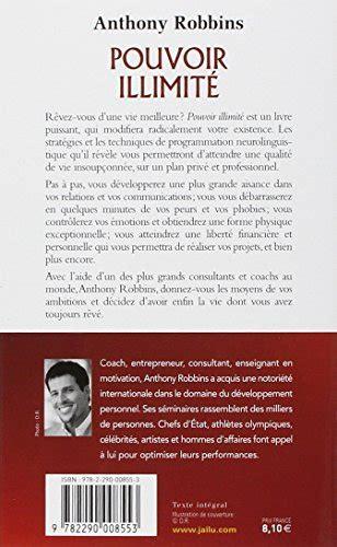 libro le nouveau pouvoir libro pouvoir illimit 233 di anthony robbins