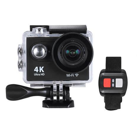 Produk Terlaris Kamera Sport Wifi 4k Hd With Remote Best Qualit 4k 25fps 1080p 60fps hd 12mp wifi sports w remote