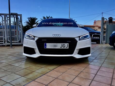 Audi Tt Automatik by Audi Tt S Line 2 0 Tfsi S Tronic Automatic Lhd In
