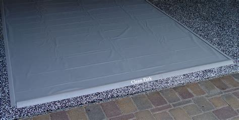 Garage Matting park smart clean park garage floor mat free shipping