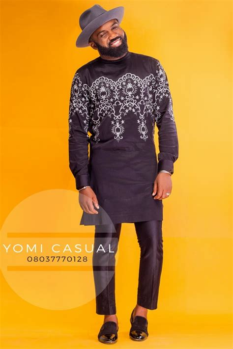 yomi casual 2016 latest designs images nigerian menswear designer yomi casual enlists noble igwe