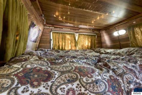 hippie van bed hippie van airbnb could only happen in vancouver