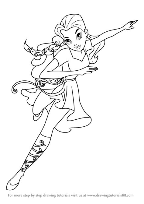 princess ivy coloring page pin by emma brookes on superheros pinterest color