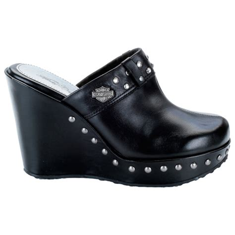 harley davidson clogs for womens harley davidson coral womens studded clog d83026