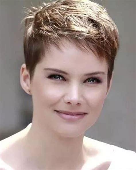 hairstyles for thin hair fuller faces pixie hairstyles for round face and thin hair 2018 page