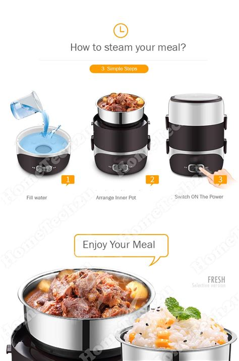 Electric Mini Steamer faber portable food steamer electric mini lunch box