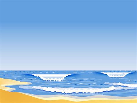 beach ppt background powerpoint backgrounds for free
