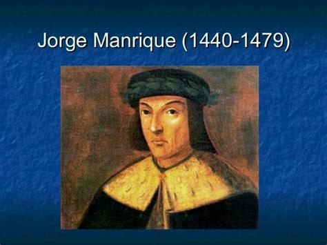coplas a la muerte 1480208191 jorge manrique