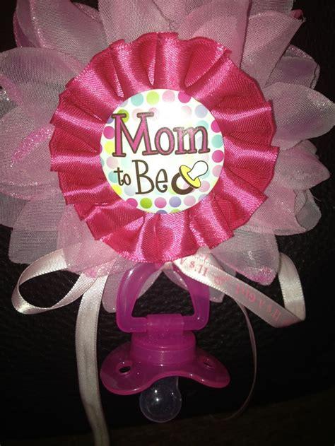 Handmade Corsage - to be handmade corsage baby shower