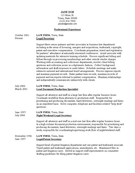 resume format it resume cover letter sle