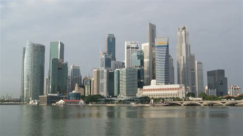 in singapore file singapore skyline in the early morning jpg