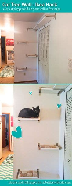 diy ikea hacks 5 easy steps to make your own ikea couch idea for making an outdoor cat tree cat crazy